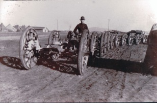 Audie Denney cannons WW1