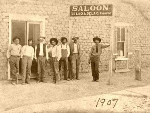 De La O Saloon with patrons out front..jpg